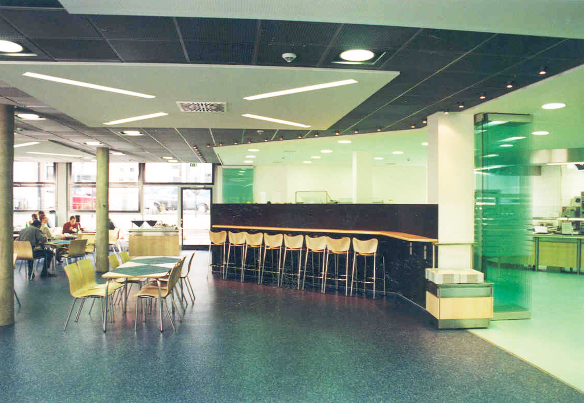 Kantine Bürogebäude Hugenottenallee Neu-Isenburg