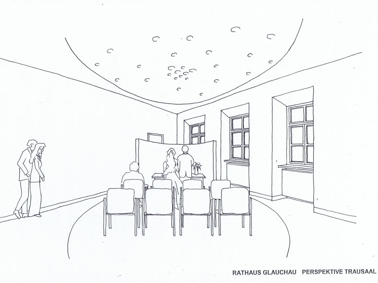 Trausaal Rathaus Glauchau