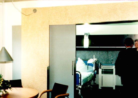 Patientenschlafzimmer Herzzentrum Frankfurt